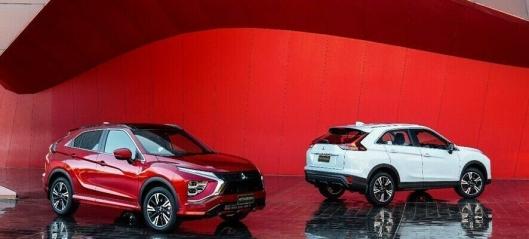 Mitsubishi snur i Norge - lanserer nye Eclipse Cross PHEV