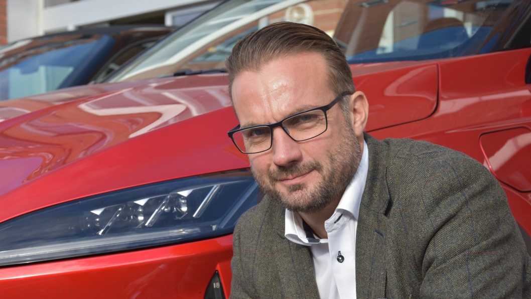 Espen Strømme er daglig leder for Xpeng-importøren Zero Emission Mobility.