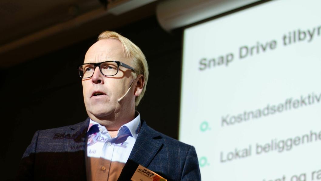 Morten Harsem er adm. direktør i Snap Drive.
