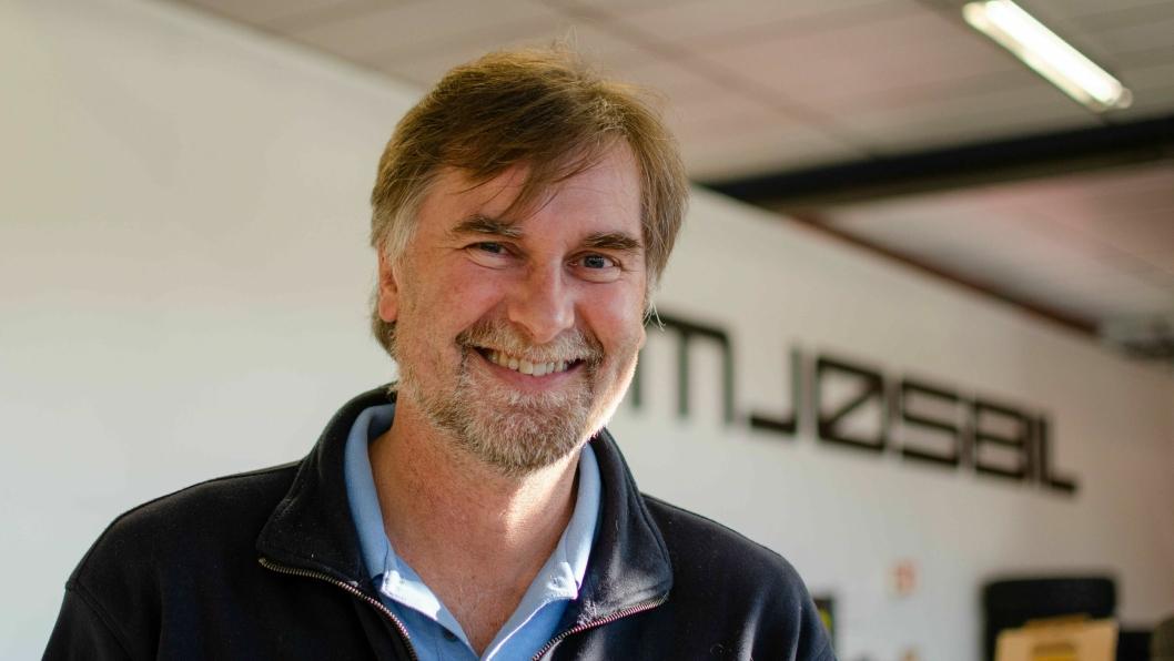 Daglig leder og eier av Mjøsbil, Jens Petter Markestad.