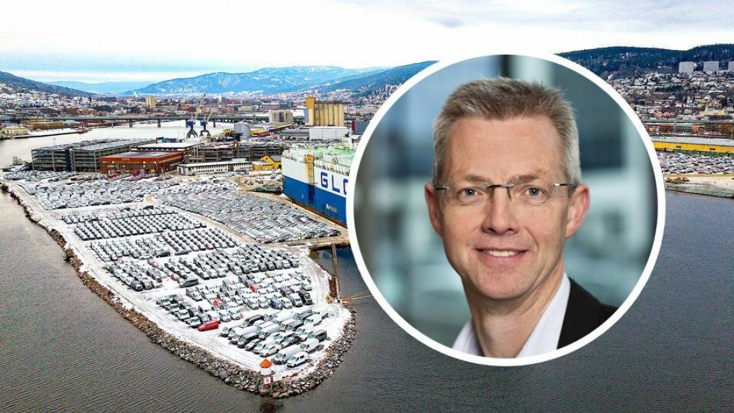 Direktør Arne Lorvik i Møller Logistikk.