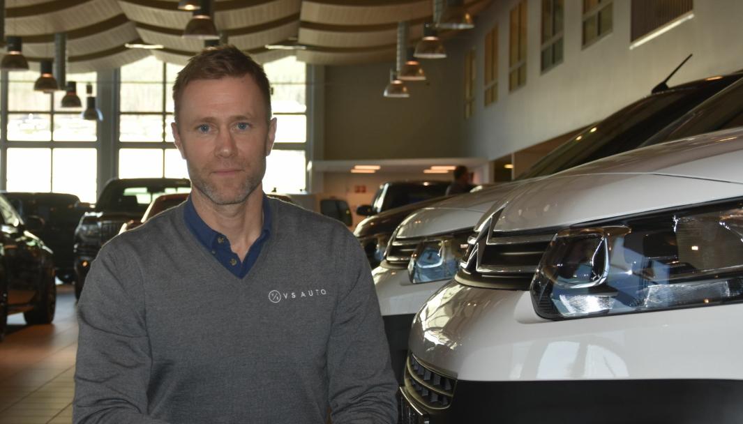 Daglig leder og eier av VS Auto AS, Eirik Vennerød.
