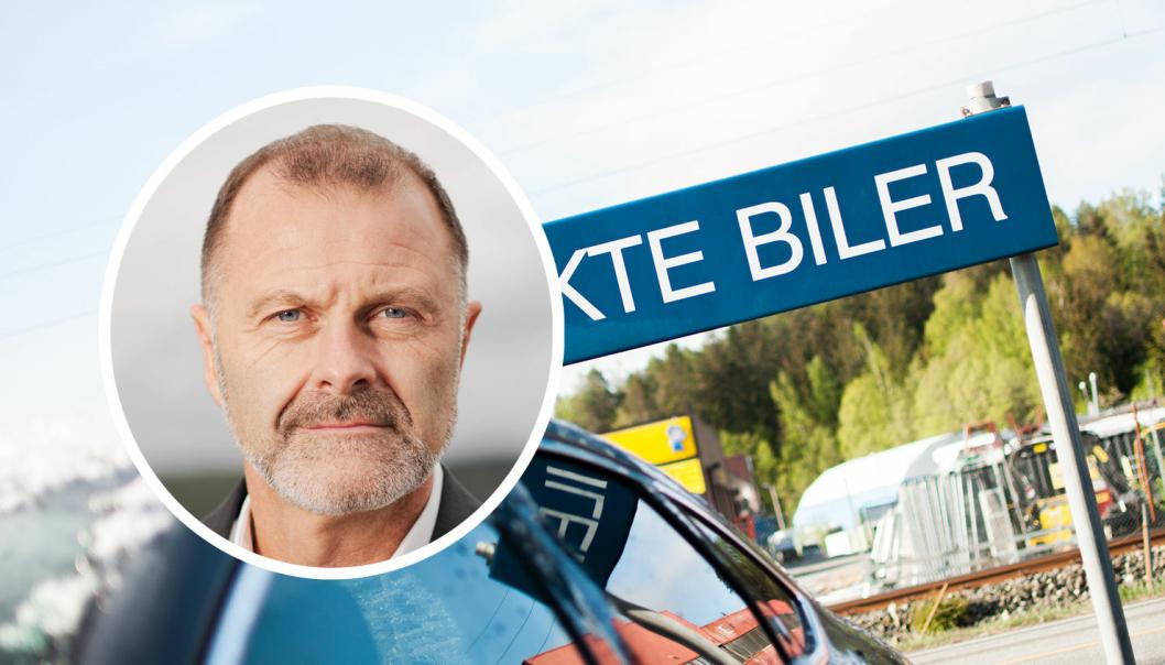 Atle Lessum er kommunikasjonsdirektør i Schibsted