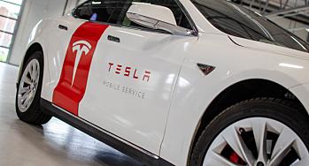 Tesla ruller ut servicemarkeds-konsept