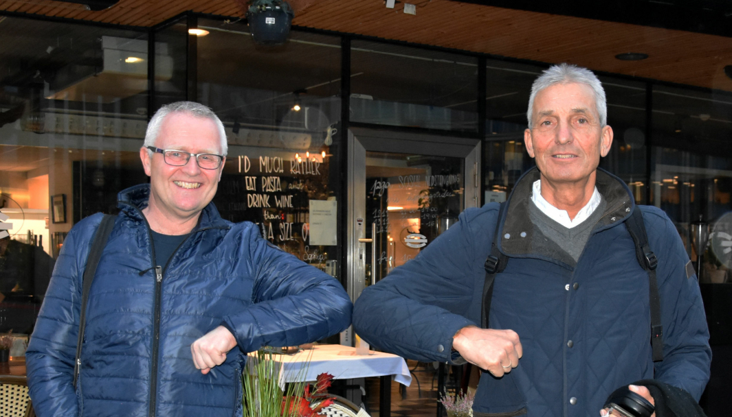 F. v.: Trym Jørgenrud og Jon Erik Ludvigsen