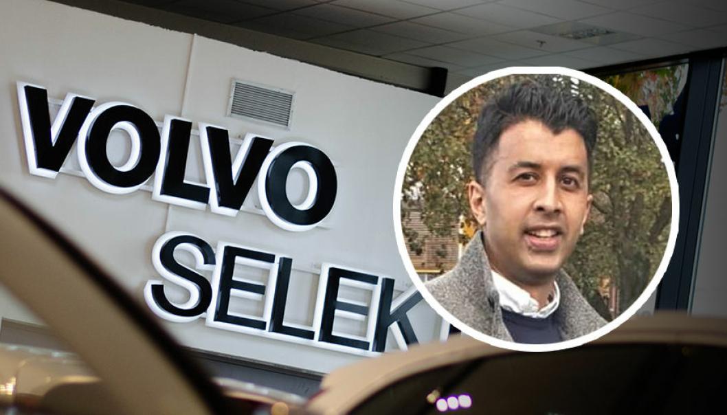 Naveed Liaquat, bruktbilsjef i Volvo Car Norway.