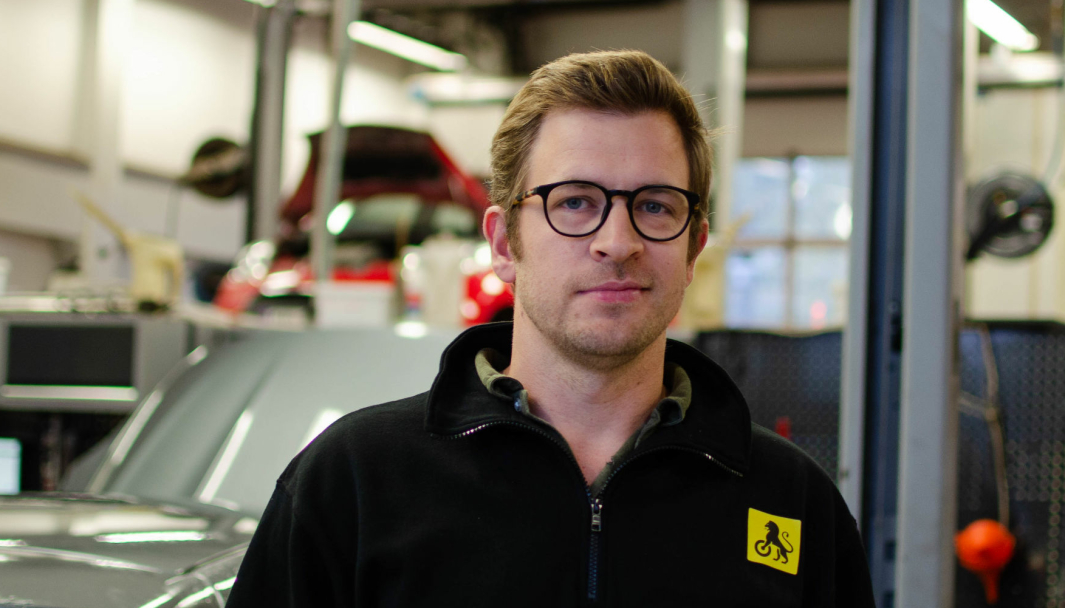 Andreas Brodtkorb, daglig leder i NAF Senter-kjeden.