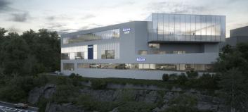 Dette blir Bilias nye hovedanlegg for Volvo i Oslo