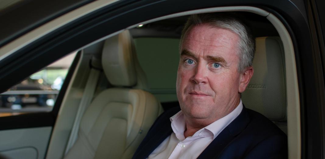 Frode Hebnes, administrerende direktør i Bilia Norge