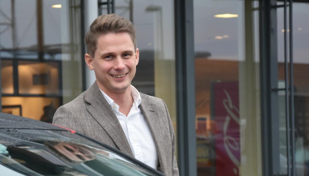 Ole Stefan Nedenes er merkesjef for Citroën hos importør Bertel O. Steen.