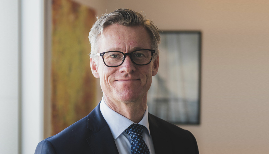 Grant Larsen, konsernsjef i Cognia.