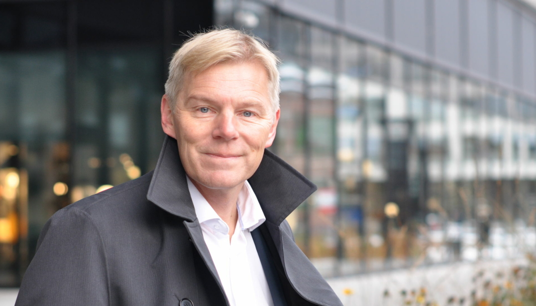 Robert Berg, banksjef i Instabank.