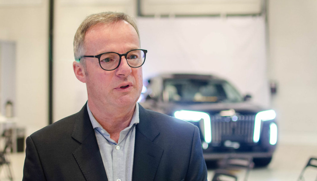 Magnus Brask Rustad, konsernsjef i Motor Gruppen.