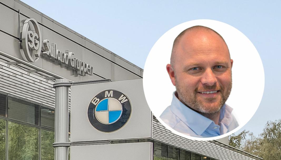 Petter Søndegaard, BMW-ansvarlig i Sulland Gruppen.