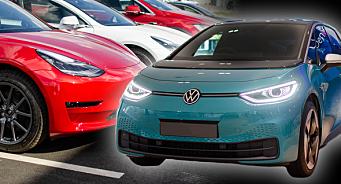 Tesla og ID.3-race mot rekordmåned