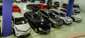 Brukte biler: Veksten bremser på Østlandet - se hvor det øker mest