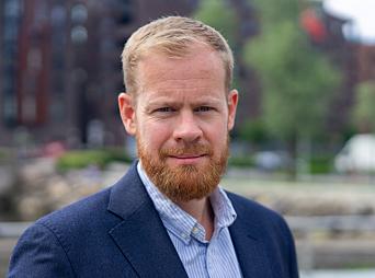 <em>Simen Rudi, kommunikasjonssjef i Fremtid Forsikring. </em>
