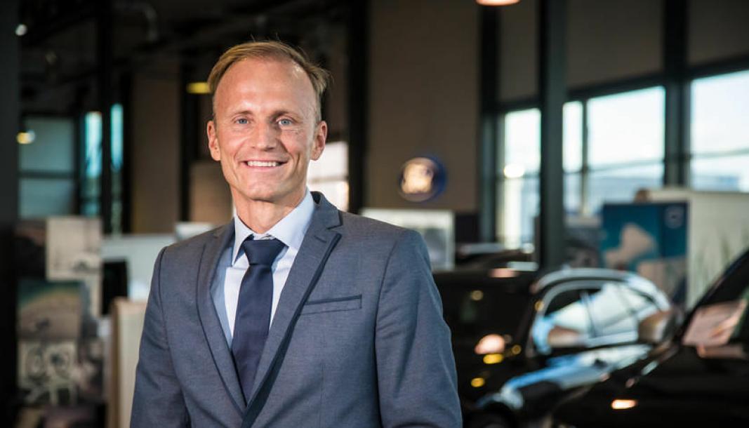 Thor Drechsler, konsernsjef og eier av Bil i Nord-konsernet.Click to add image caption