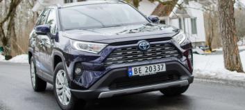 Bilsalget: Toyota på topp - BOS (mye) større enn Møller
