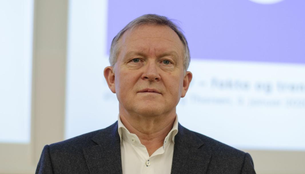 Direktør Øyvind Solberg Thorsen i OFV mener Enovas rapportering er lite tillitsvekkende.