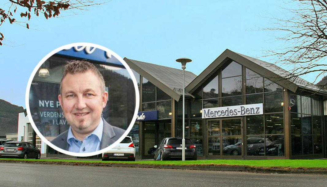 Frode Svidal er daglig leder i Bilhuset Førde AS og formann i forhandlerforeningen for Mecedes-Benz i Norge