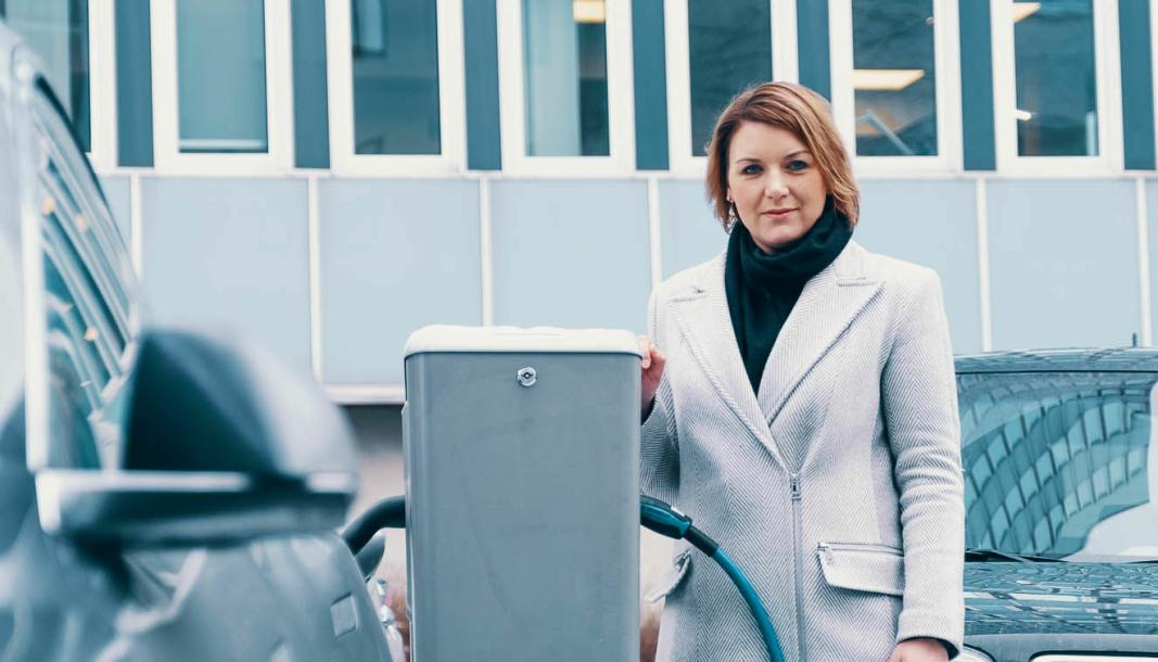 <em>Christina Bu, generalsekretær i Norsk elbilforening.</em>