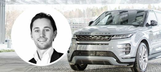 Han blir midlertidig sjef for Jaguar og Land Rover i Norge
