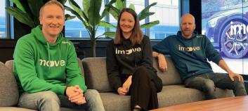 Imove satser utenlands - lanserer i Sverige