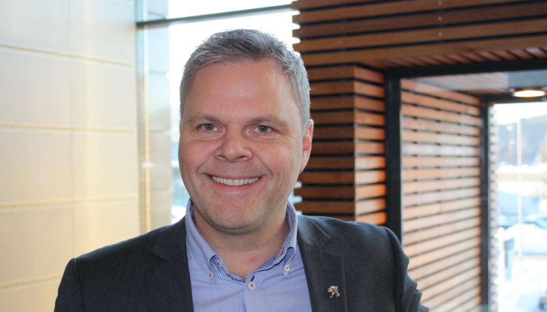 <em>Merkesjef for Peugeot hos PSA Norge, Rune Hensel.</em>