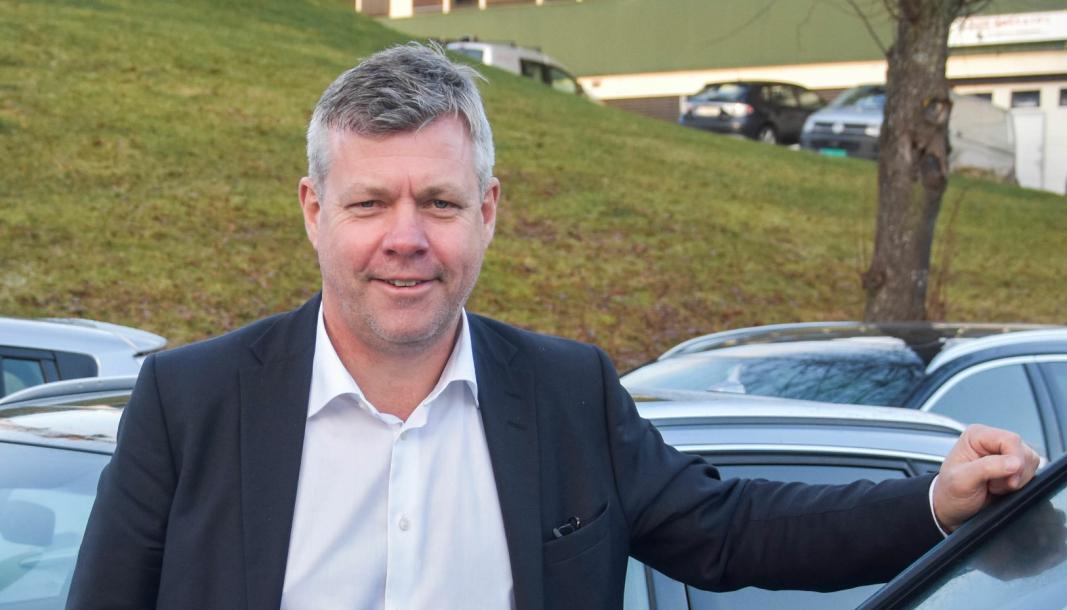 <em>Sverre Helno, administrerende direktør i Møller Bil.</em>