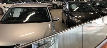Færre nyere bruktbiler omsatt - her er nedgangen størst