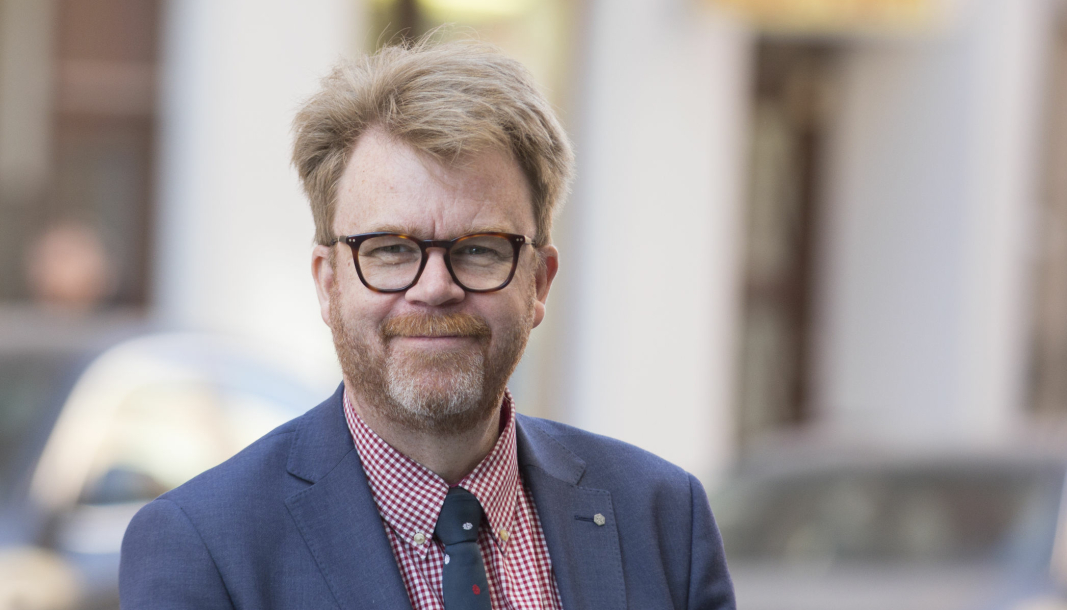 <em>Tommy Letzén, administrerende direktør for Motorbranschens Riksförbund.</em>