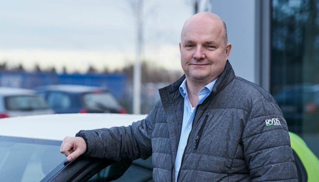 <em>Administrerende direktør i Cary Group Denmark, Kenneth Waagenes.</em>