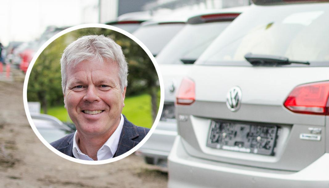<em>Administrerende direktør i Volkswagen Møller Bilfinans, Arne Lyslo Kristiansen.</em>