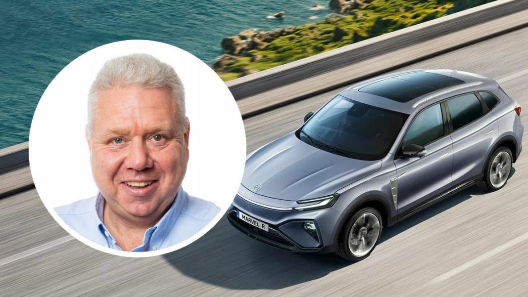 <em>Dag Asbjørnsen i Norwegian Mobility Group, den norske MG-importøren.</em>