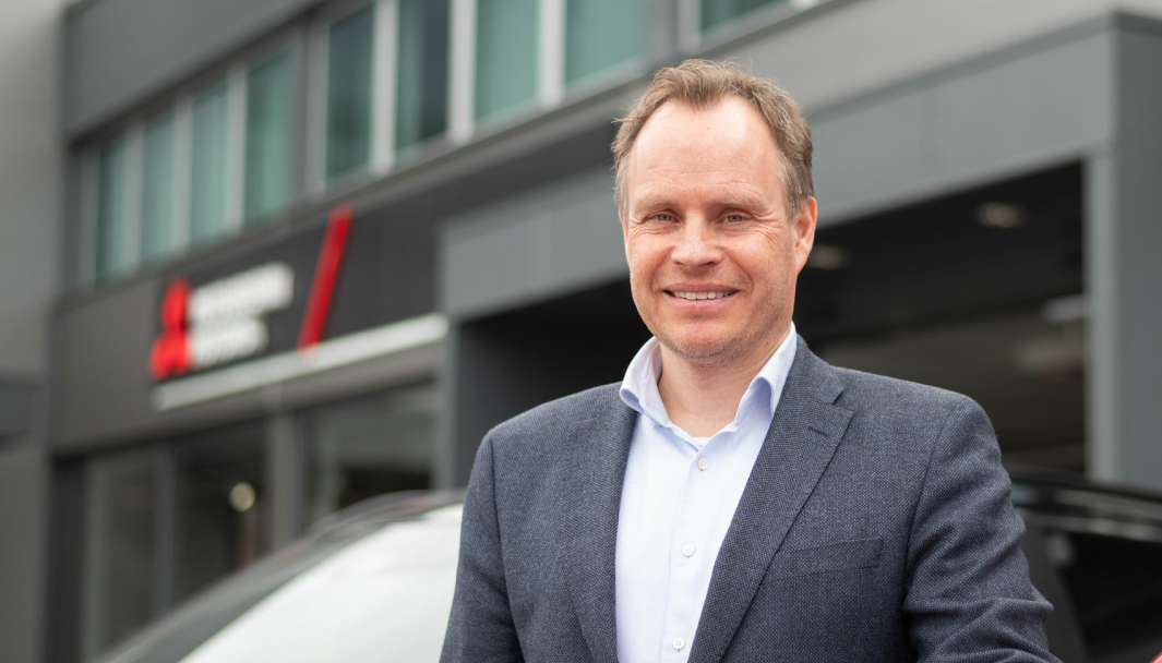 <em>Rune Gjerstad, administrerende direktør i Motor Gruppen Import AS.</em>
