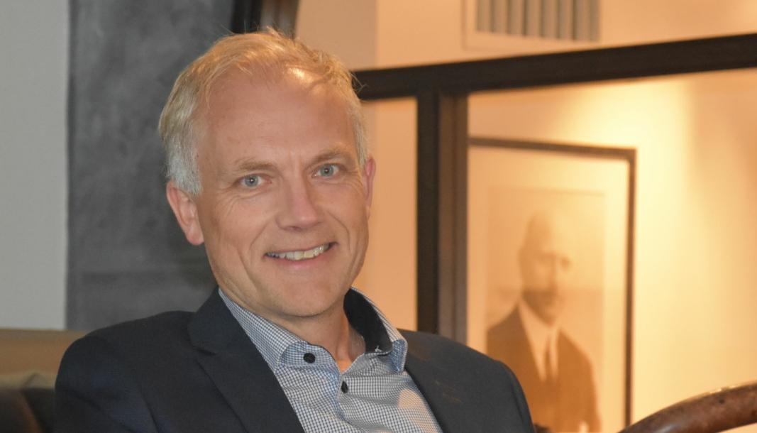 <em>Konsernsjef i Bertel O. Steen, Harald Frigstad.</em>