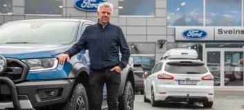 Flytter og satser eksklusivt på Ford