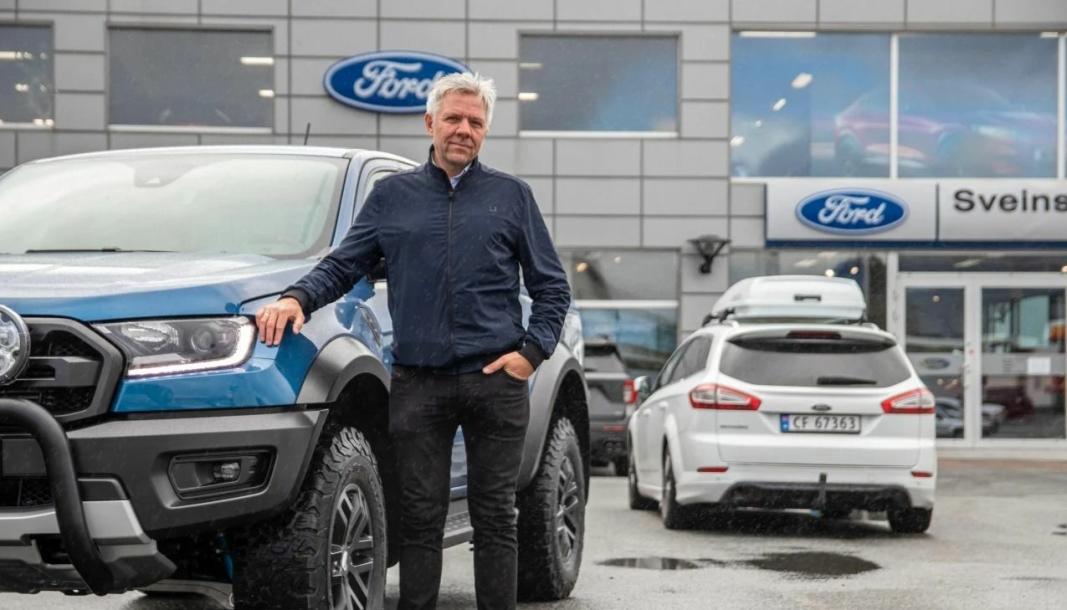 <em>Ole Kristian Os, eier og daglig leder i Sveins Auto, ser for seg flytting mot slutten av 2022.</em>