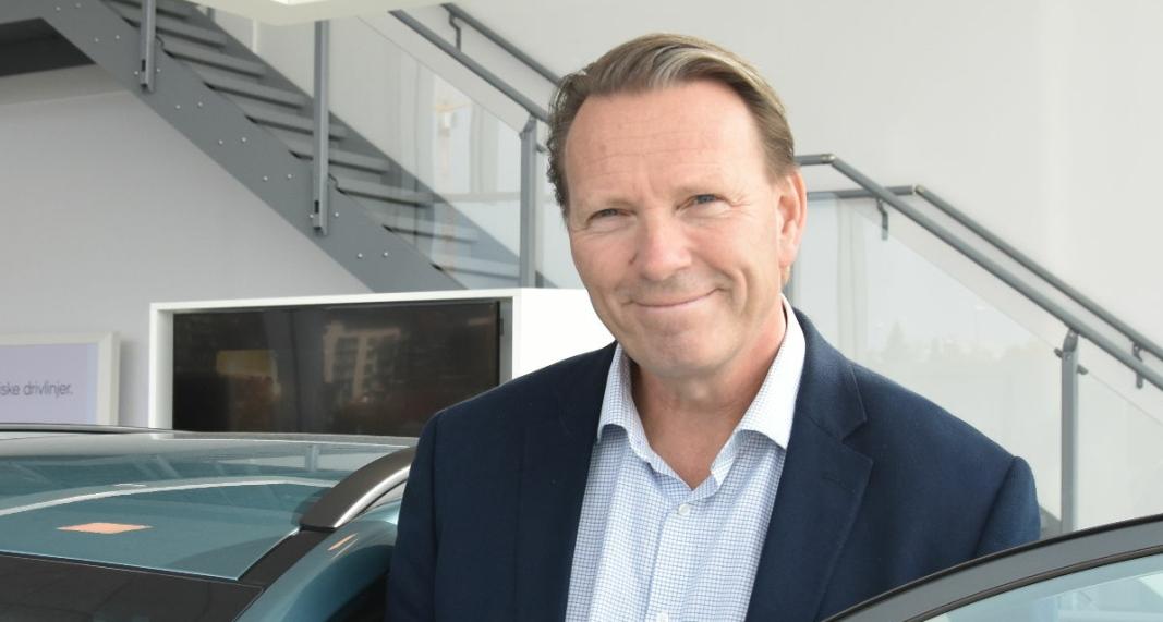 <em>Administrerende direktør i Hyundai Motor Norway, Thomas Rosvold.</em>