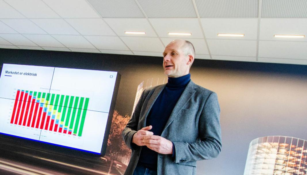 Ulf Tore Hekneby blir ny styreleder i Bilimportørenes Landsforening.