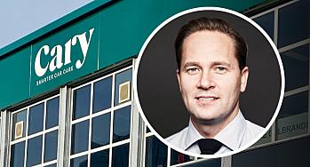 Bilglass-kjeden Cary Group inn i skade/lakk i Norge
