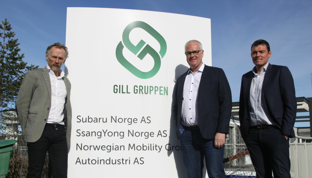 Fra venstre: Styreleder Leif Madsberg, daglig leder Jan Kåre Holmedal og finansdirektør Anders Aksnes.