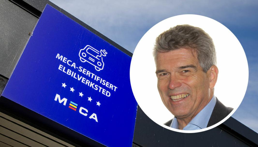 John-Axel Granberg er kjedesjef for Meca i Norge.