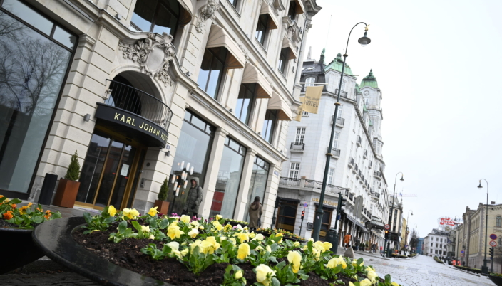 På venstre side av inngangen til Karl Johan Hotel vil Nio etablere café og bar