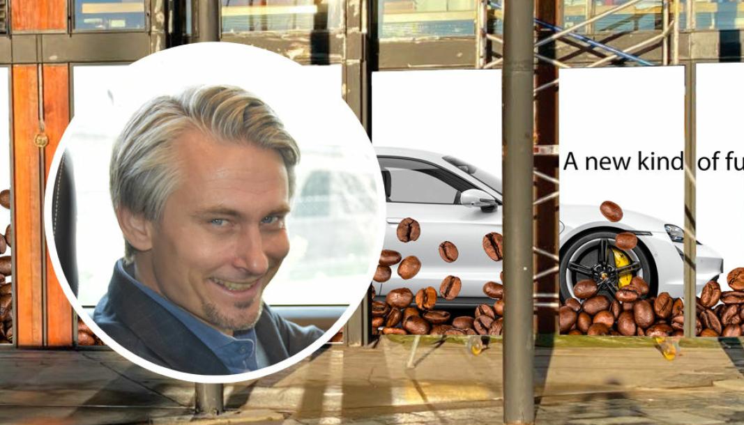 <em>Administrerende direktør for den norske Porsche-importøren Autozentrum Sport, Morten Scheel.</em>