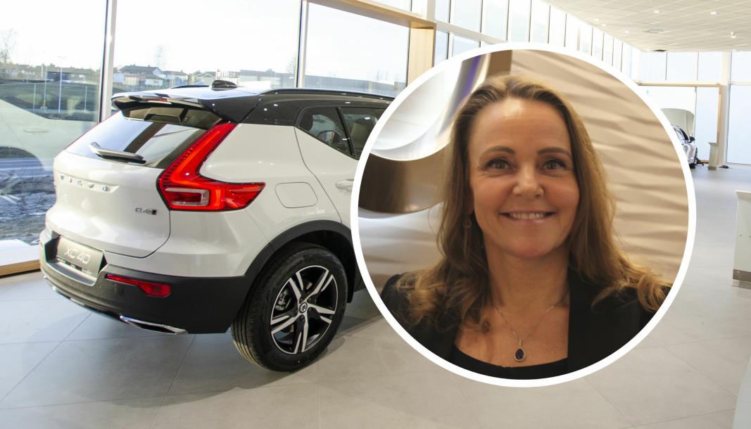 <em>Rita Kristin Broch, administrerende direktør i Volvo Car Norway.</em>