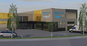 Bavaria bygger nytt i Haugesund – samlokaliserer dekkhotell og MPS Micropaint