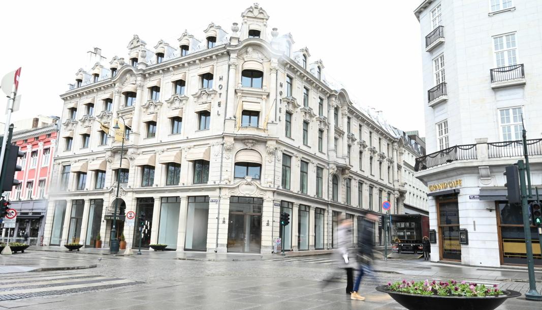 Med Grand Hotel og Stortinget som nærmeste naboer etablerer Nio seg med sitt første showroom i Norge.