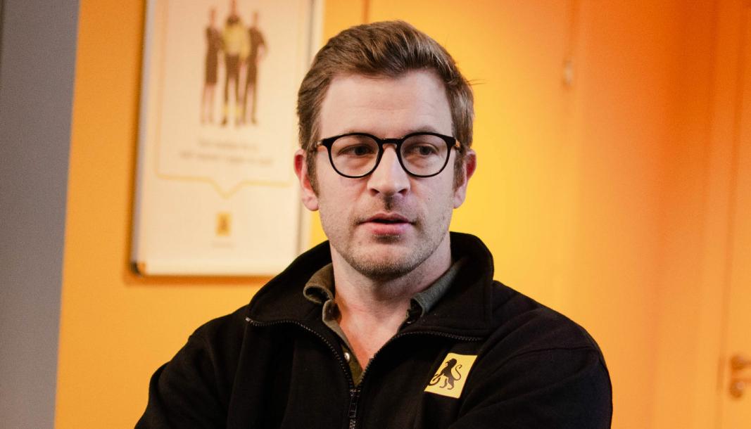 <em>Daglig leder i NAF Senter-kjeden, Andreas Brodtkorb.</em>